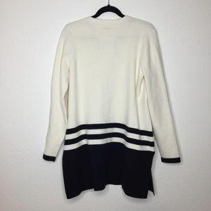 Anthropologie Sweaters - Anthro Angel of the North Varsity Cardigan Cream L